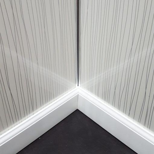 Silver Strings White