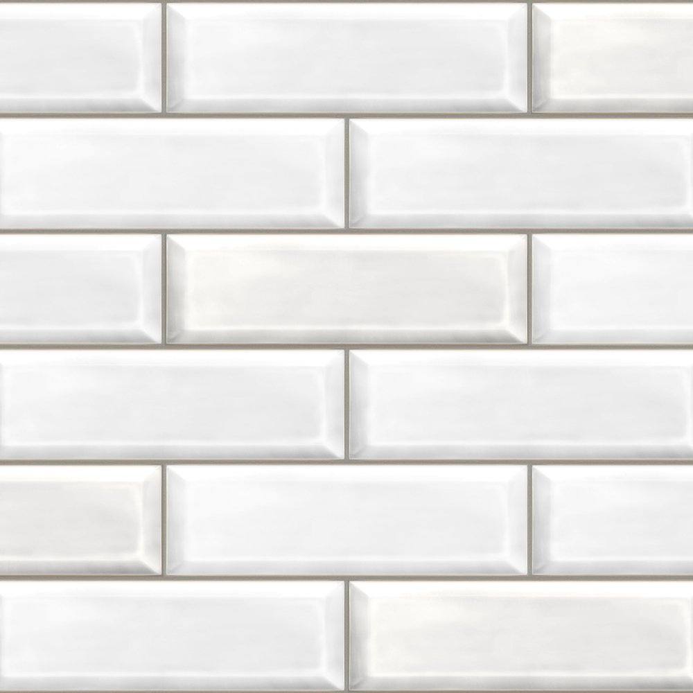 White Brick Bathroom Cladding Store
