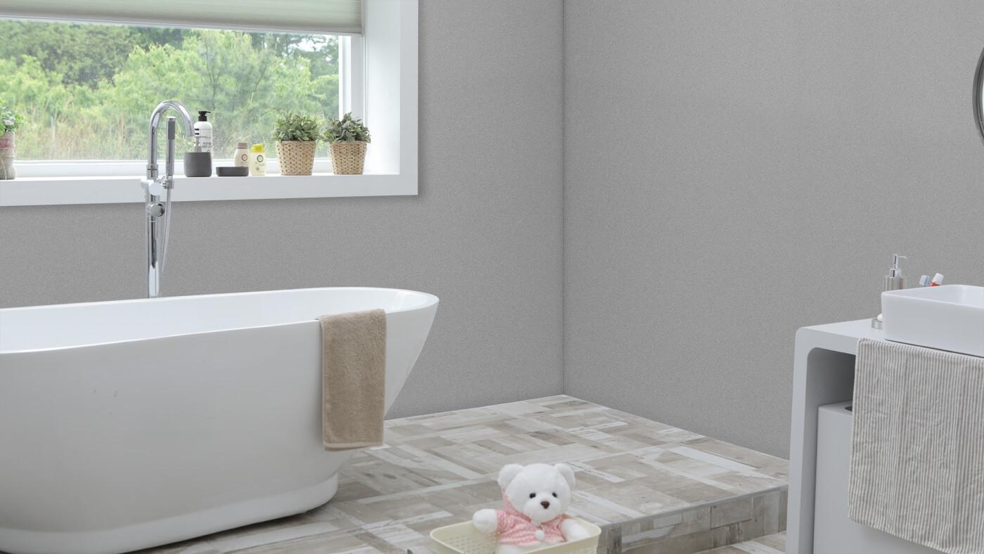 Silver Shimmer Bathroom Cladding - Bathroom Cladding Store ...